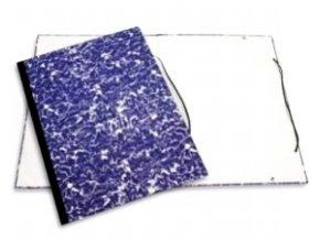 Desky na výkresy s hřbetem s gumičkou A4