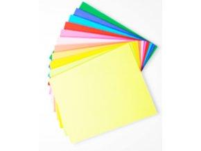 Kancelářské barevné papíry A4 80g barevný sada 10x10 listů