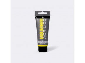 Akrylová barva Maimeri Acrilico 75 ml - žlutá permanentní citronová 112