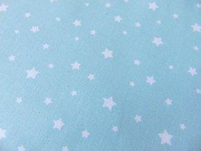 Plátno Bílé hvězdy na mentolové