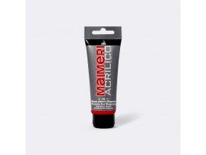 Akrylová barva Maimeri Acrilico 75 ml - červená magenta 256