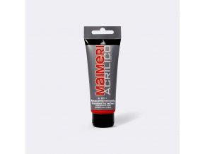 Akrylová barva Maimeri Acrilico 75 ml - červená permanentní střední 259