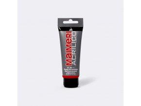 Akrylová barva Maimeri Acrilico 75 ml - červená transparentní 266