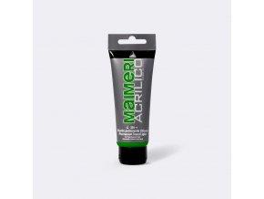 Akrylová barva Maimeri Acrilico 75 ml - zelená permanentní světlá 339