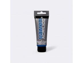 Akrylová barva Maimeri Acrilico 75 ml - modrá kobaltová tmavá imitace 371