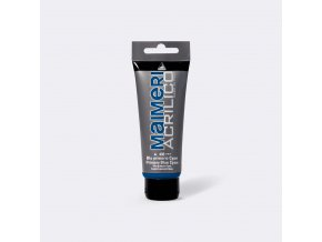 Akrylová barva Maimeri Acrilico 75 ml - modrá základní cyan 400