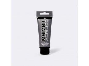 Akrylová barva Maimeri Acrilico 75 ml - černá karbonová 537