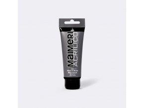 Akrylová barva Maimeri Acrilico 75 ml - černá mars 540