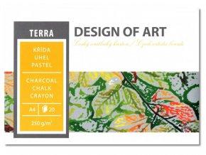 Grafický blok TERRA A3 250 g, 20 listů