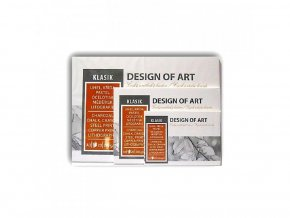 Akvarelový blok AKVAREL A2 lepený 230g, 20 listů