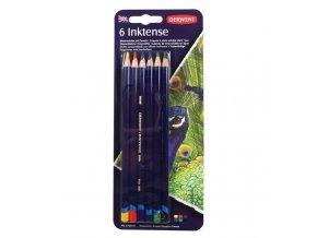 DERWENT Inktense akvarelové pastelky 6 barev