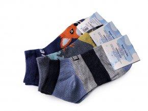 Chlapecké bavlněné ponožky kotníkové, dinosaurus