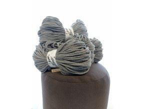 Balíček na výrobu pufu- středně šedý