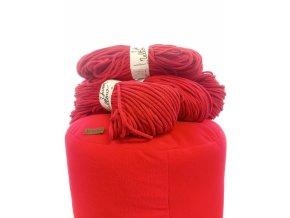 Balíček na výrobu pufu- červený