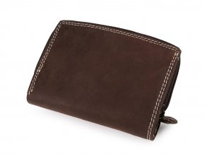 Peněženka kožená 9x13 cm