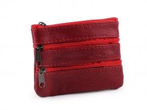 Klíčenka / peněženka malá, kožená 9x12 cm