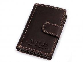 Peněženka kožená 9,5x12,5 cm