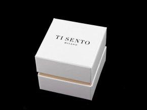 Papírová krabička s dárkovým pytlíkem na šperky
