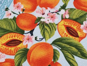 Bavlněné vaflové piké meruňky