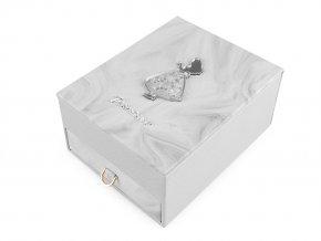 Šperkovnice princezna 8,5x14x18 cm