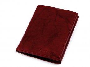 Pánská peněženka kožená 9,5x12 cm