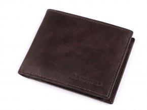 Pánská peněženka kožená 9x11 cm