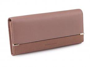Dámská peněženka 9,5x18,5 cm