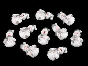 Samolepicí sněhulák