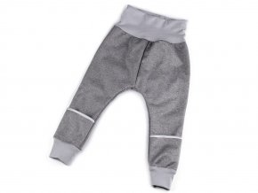Zimní softshellové kalhoty pro batolata s chytrou kapsou