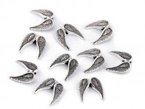 Ozdobný díl křídla 15x15 mm
