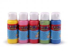 Akrylová barva 60 ml