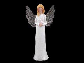 Dekorace anděl s filigránovými křídly