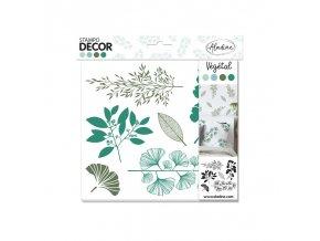 razitka stampo decor rostliny