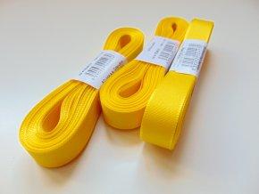 Stuha taftová žlutá