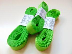 Stuha taftová zelenožlutá