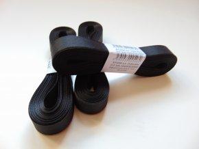Stuha taftová černá