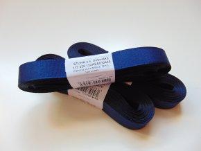 Stuha taftová tmavě modrá