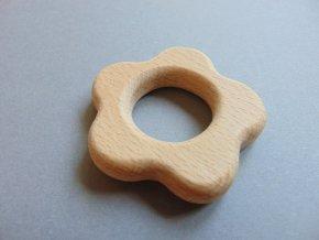 Dřevěná kytička