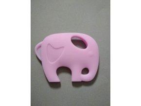 Silikonový slon sv.fialový