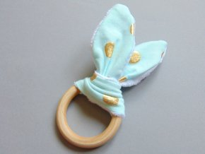 Uši tyrkysovo-zlaté