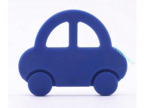 Silikonové auto modré
