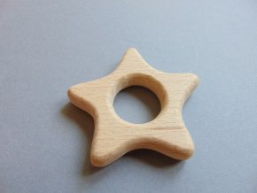 Dřevěná hvězdička