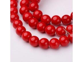 Jadeit červený2 6 mm