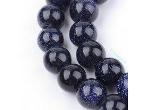 Goldstone modrý 8 mm
