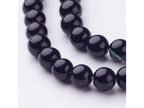 Jadeit černý 8 mm