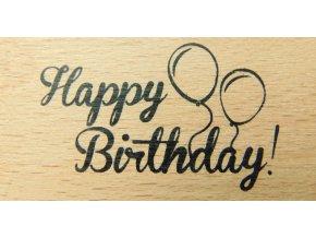 Razítko happy birthday