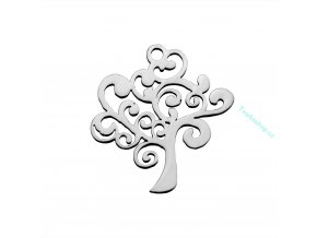 Přívěsek strom chir. ocel 1 ks