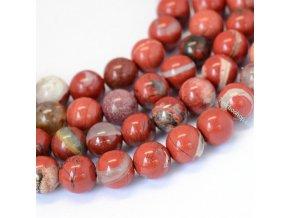 Jaspis červený 6 mm