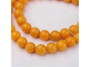 Jadeit goldenrod 8 mm