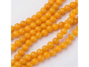 Jadeit goldenrod 6 mm
